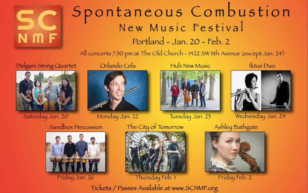 Spontaneous Combustion New Music Festival