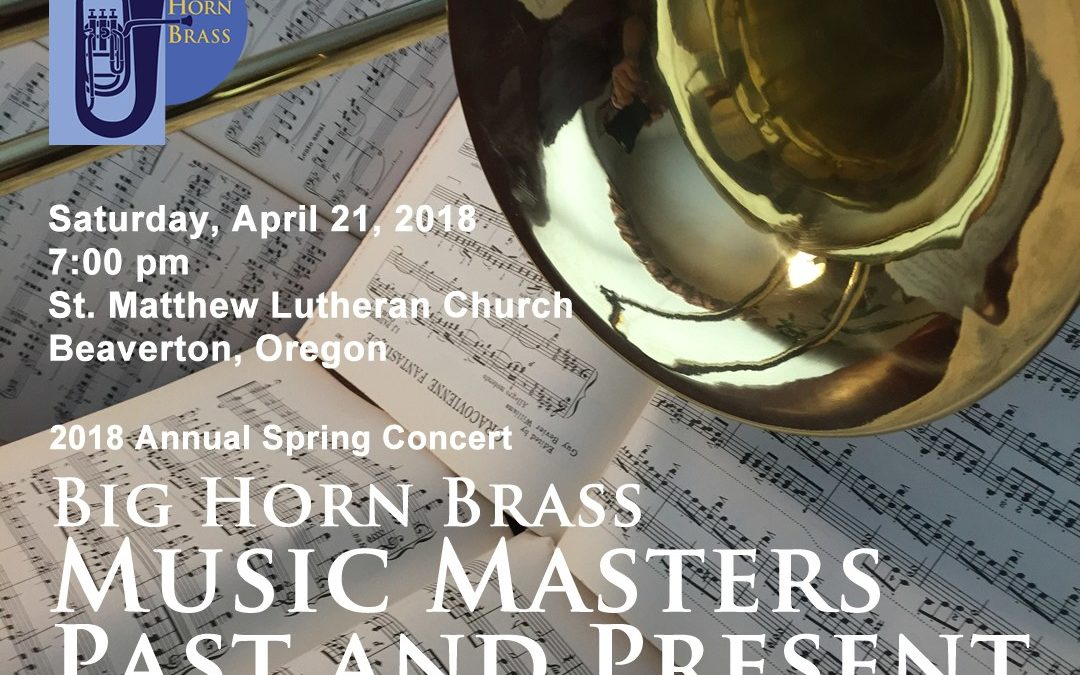 Big Horn Brass: Music of Masters Past and Present