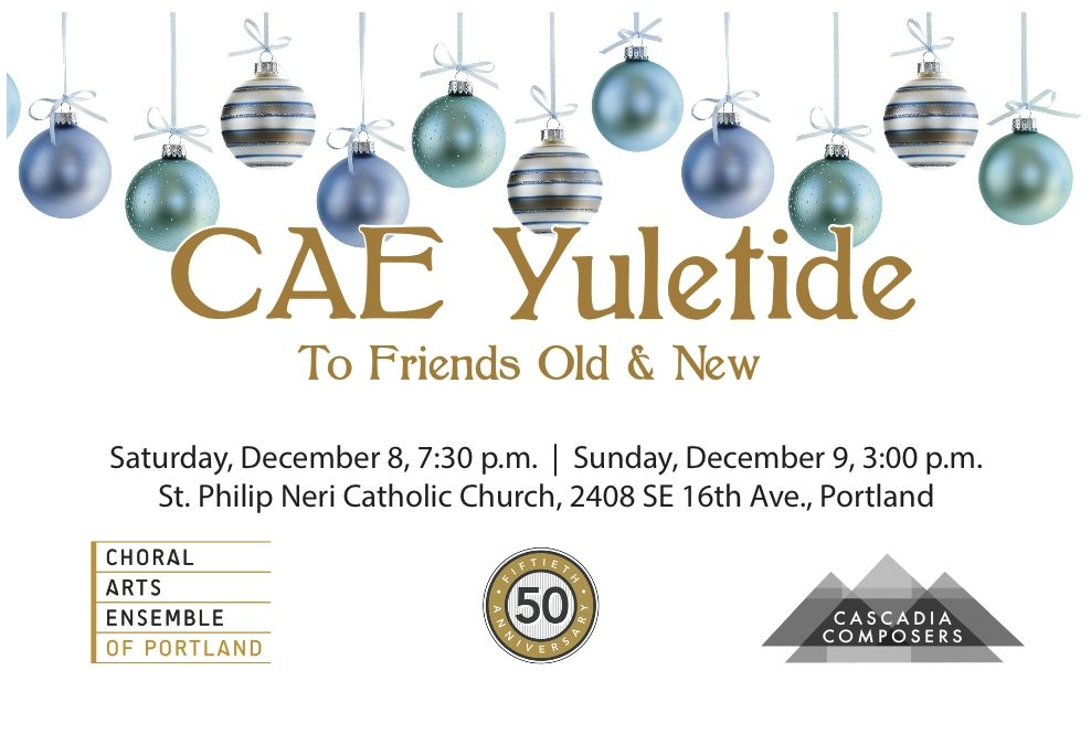 Choral Arts Ensemble Yuletide