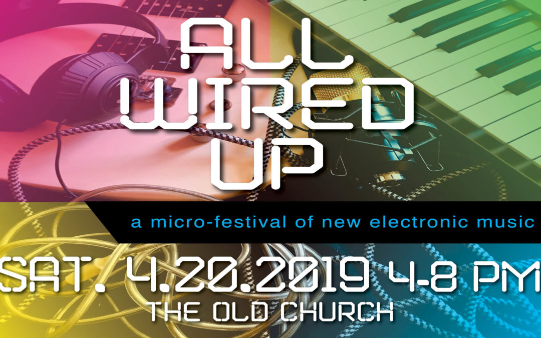 We're ALL WIRED UP!  Come feel the buzz April 20th!
