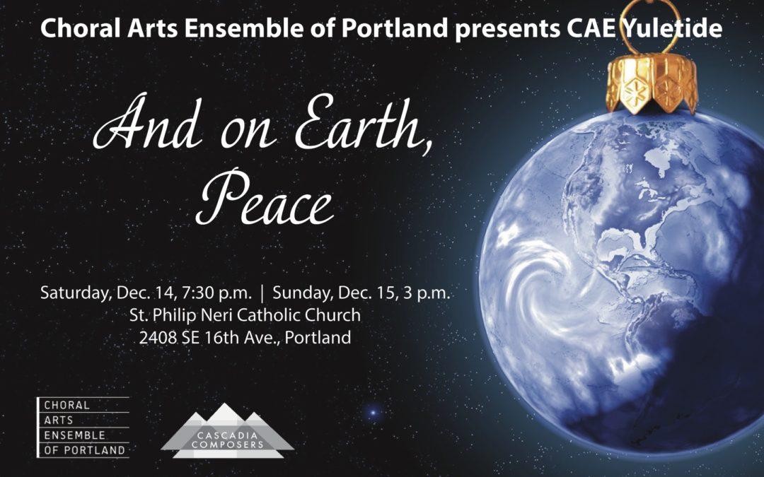 Choral Arts Ensemble Performs Cascadia Seasonal Works