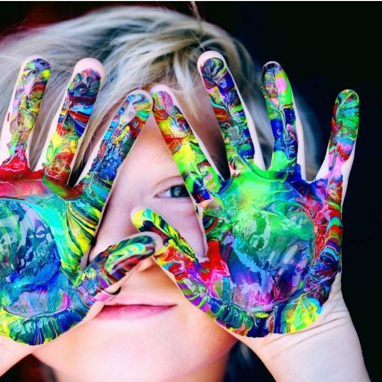 Colored Hands, In Good Hands