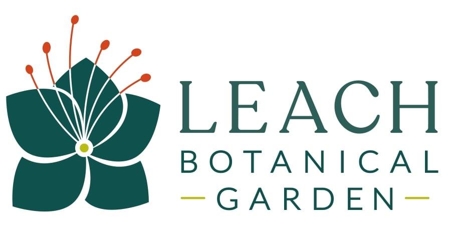 Leach Botanical Garden logo